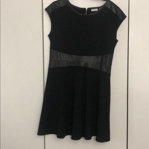 Black & Leather dress